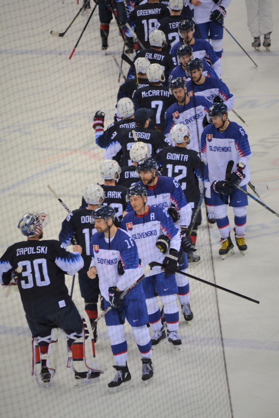 USA Slovakia_end of game
