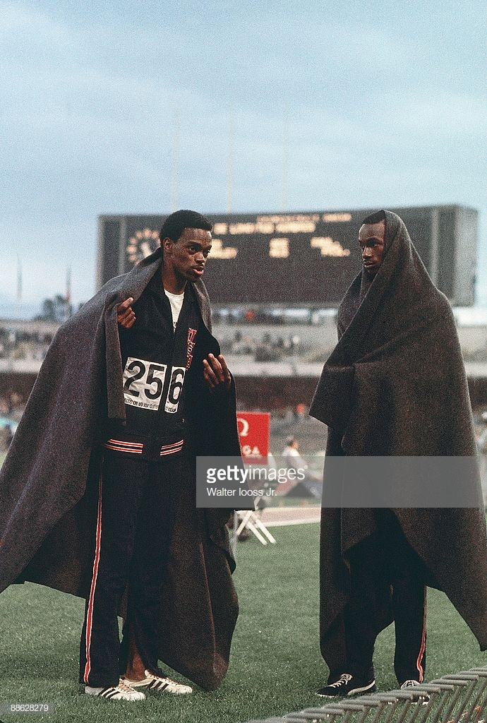 Ralph Boston and Bob Beamon_Mexico City