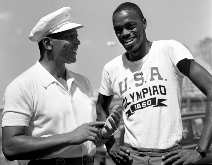 Ralph Boston and Jesse Owens