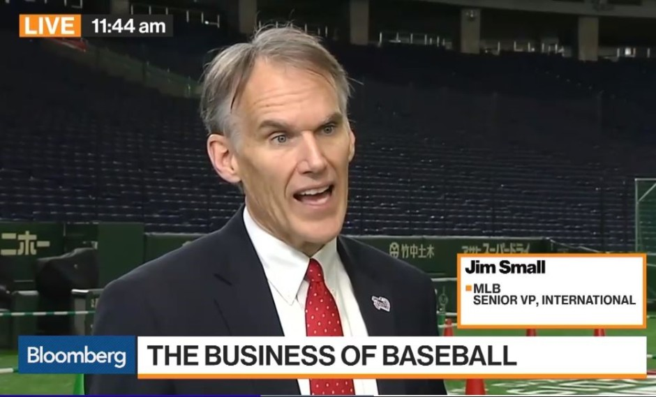 Jim Small on Bloomberg